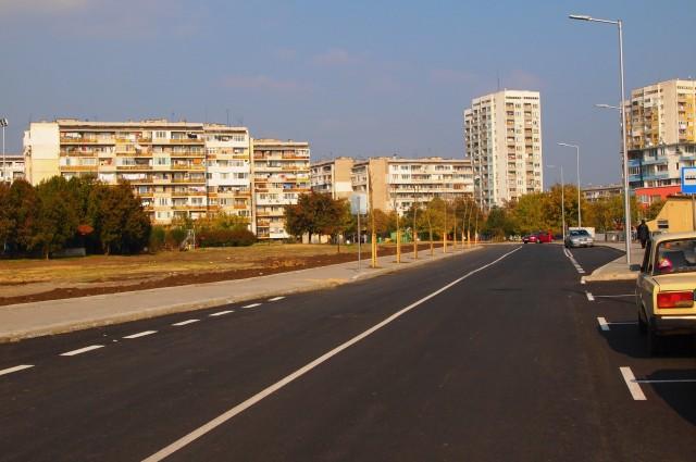 """Изграждане на улица по плана на комплекс   """"Изгрев"""""""